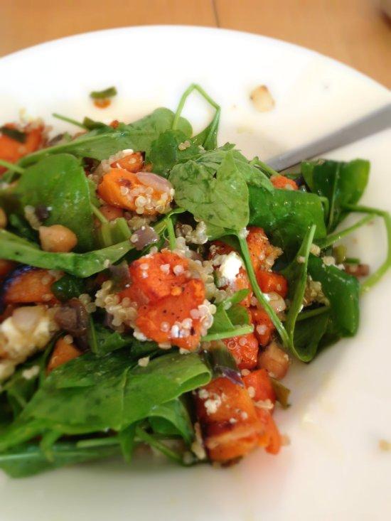 salat close up