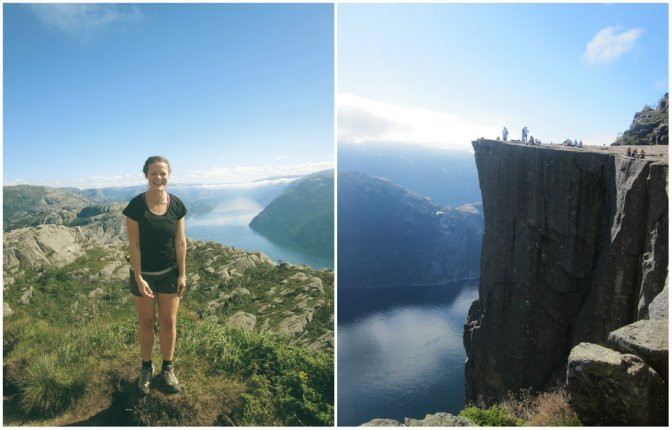 preikestolen collage