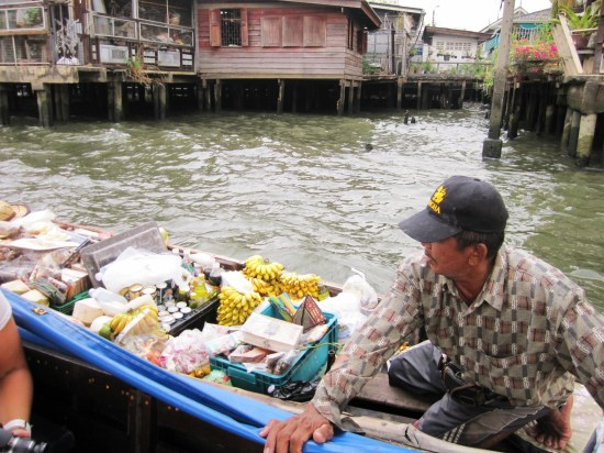 Chao Pray river Bangkok