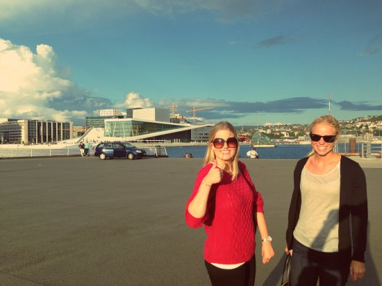 Oslo Opera House, Summer, View from harbor