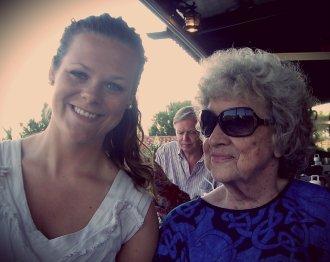 Meg og farmor