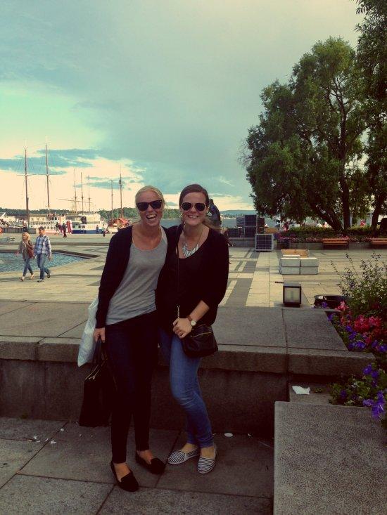 Oslo, Aker Brygge, Summer