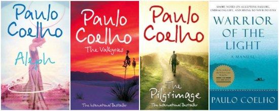 paulo coelho books collage