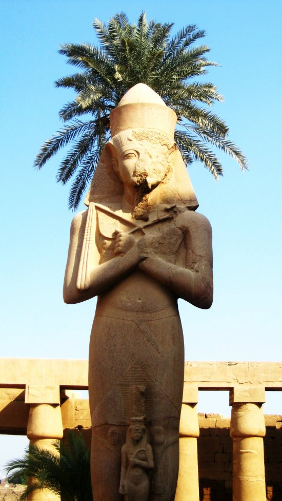 Ramses II statue, Karnak Temple, Egypt