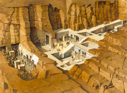 Seti Tomb valley of the kings, Egypt