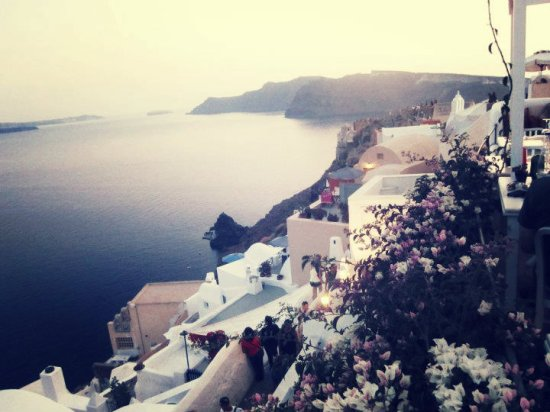 Santorini, Greece, Oia sunset