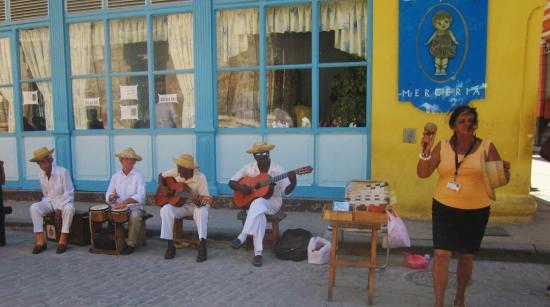 Street musicians, Havana, Cuba