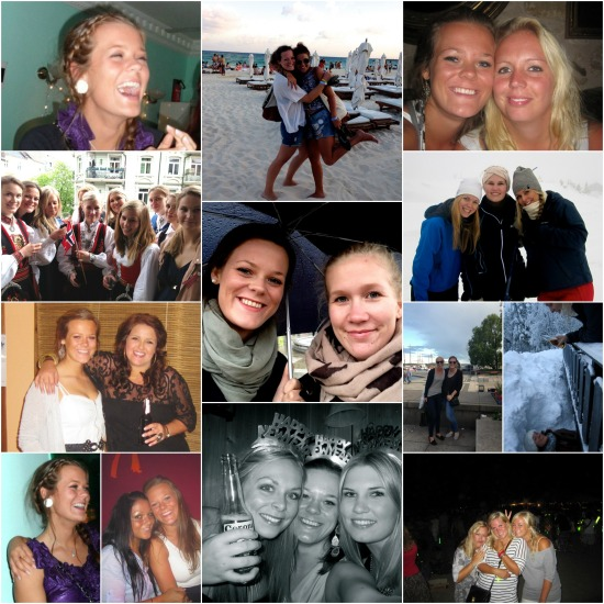 Friendship collage
