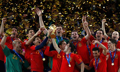 World Cup Final Spain 2010